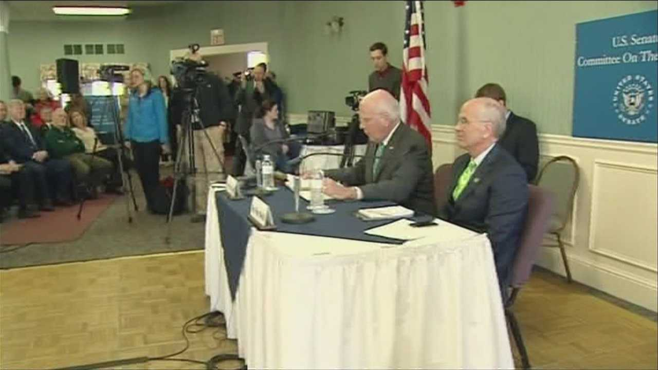 Leahy holds rare Senate hearing in Vt.