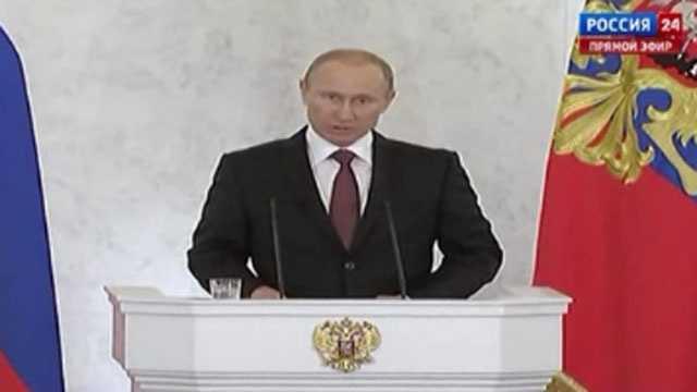 Putin statement on Crimea referendum