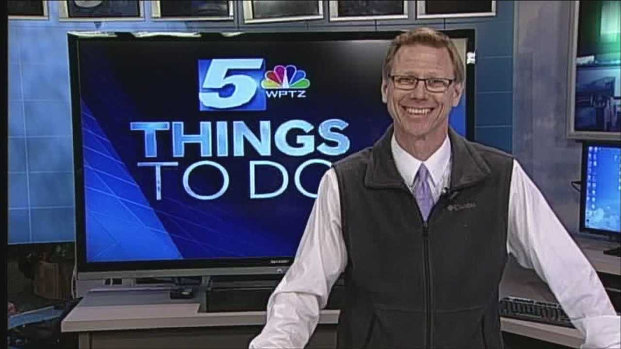 Spring into spring with some warm weather inspired events. WPTZ's Tom Messner has your things to do today.