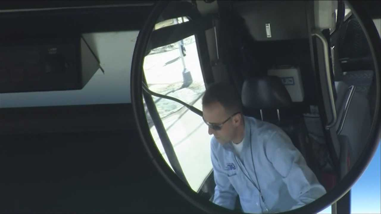 Bus drivers back behind the wheel