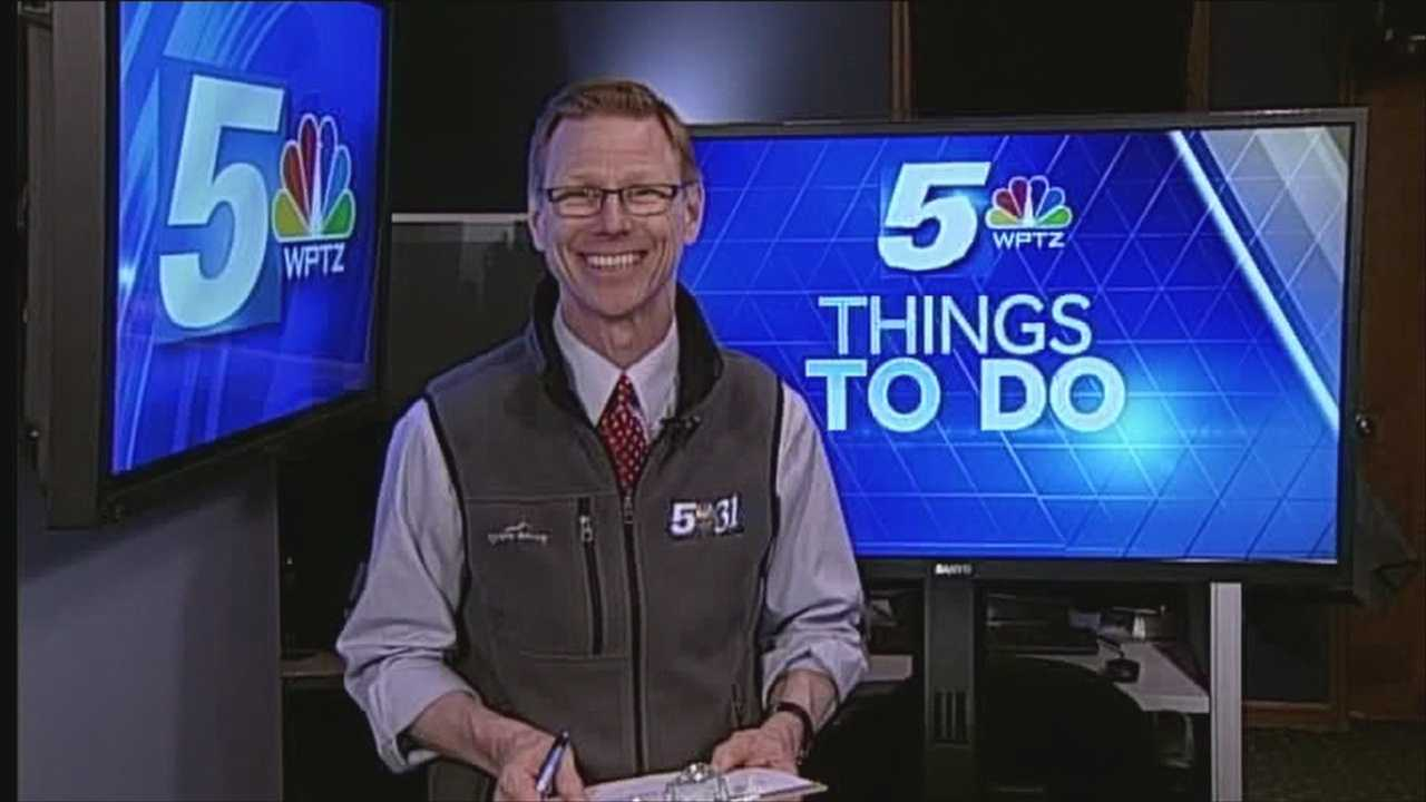 Sunday things to do with Tom Messner
