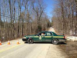 Two Vermont State Police troopers and a man were shot early Sunday morning in Leicester, police said.