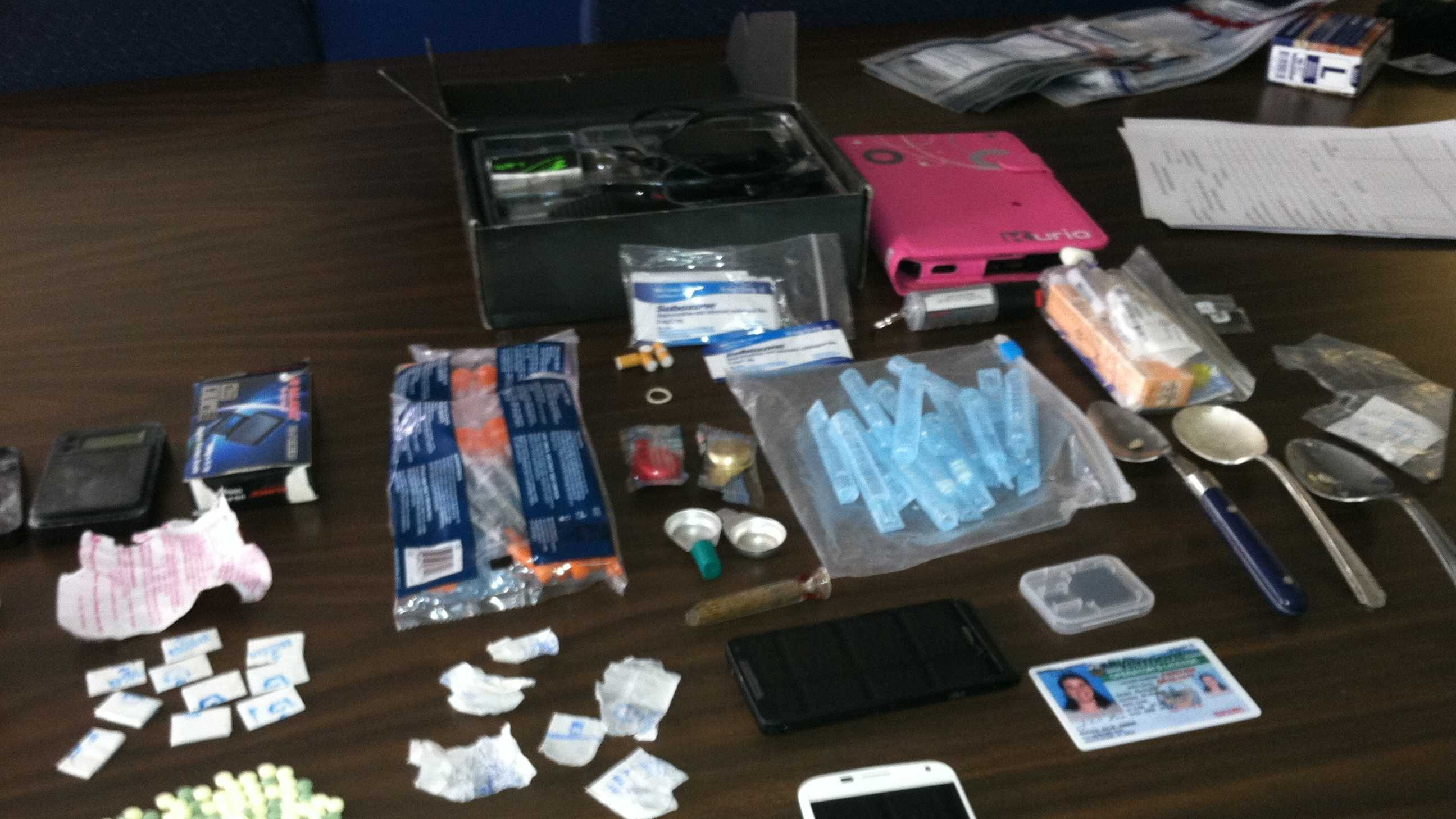 4-10-14 2 arrested for heroin within 2 days&#x3B; 4 cited in all - img