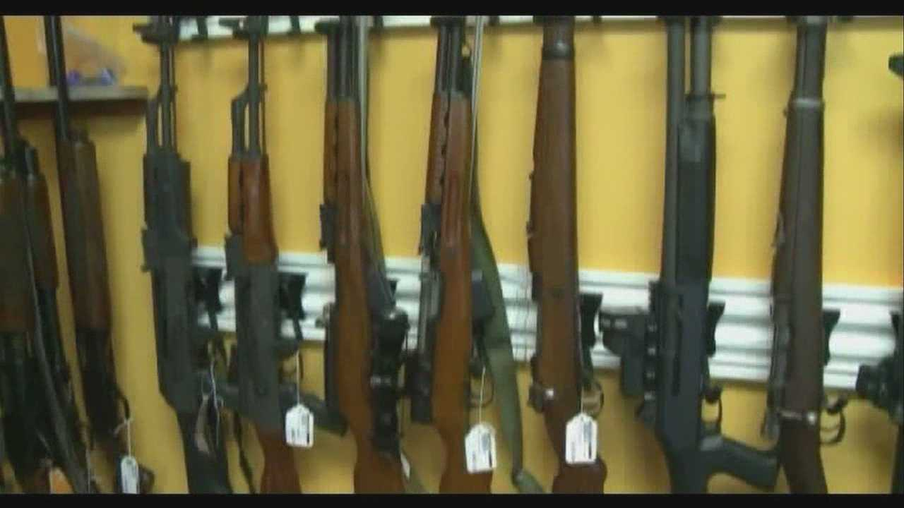 Assault rifle owners must register weapons