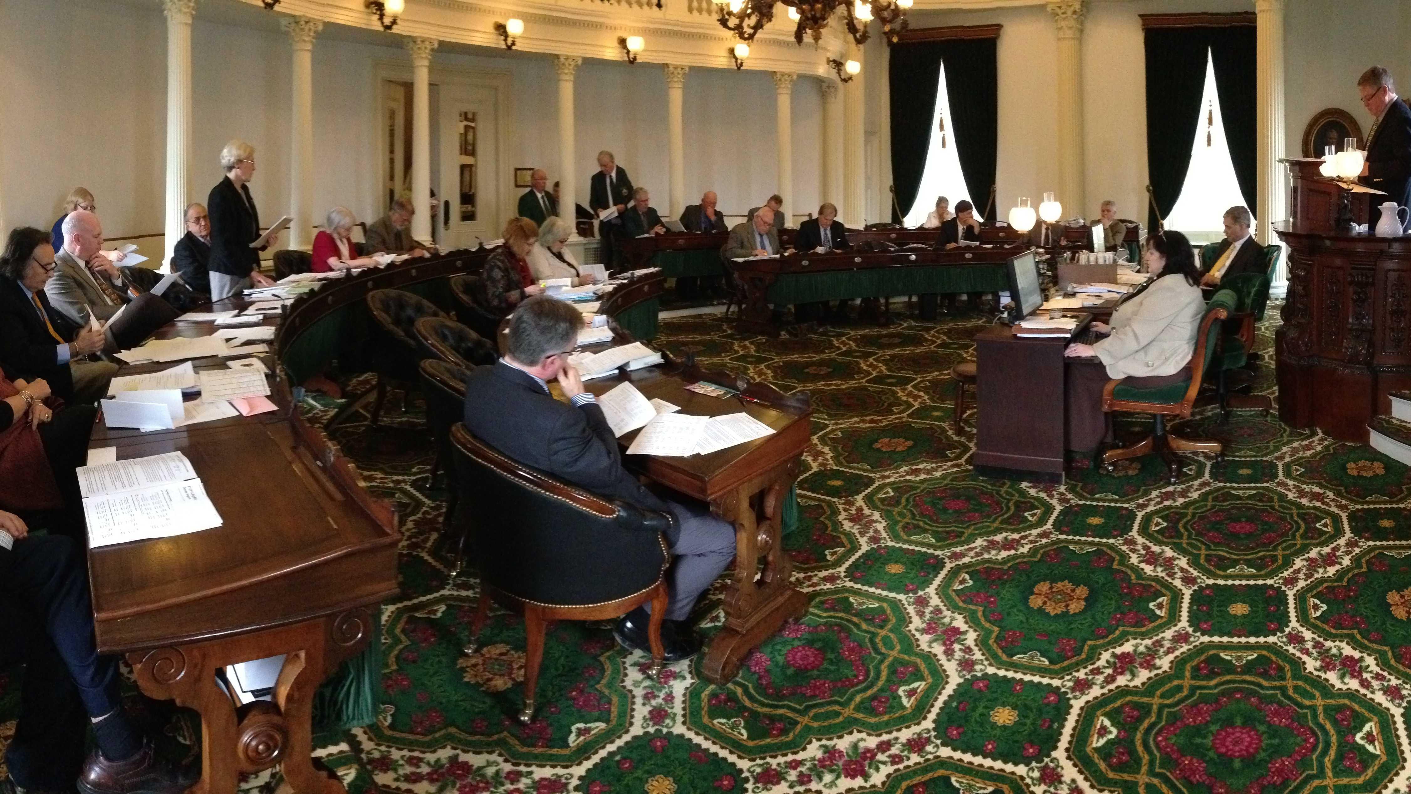 Senate debates budget Monday - img