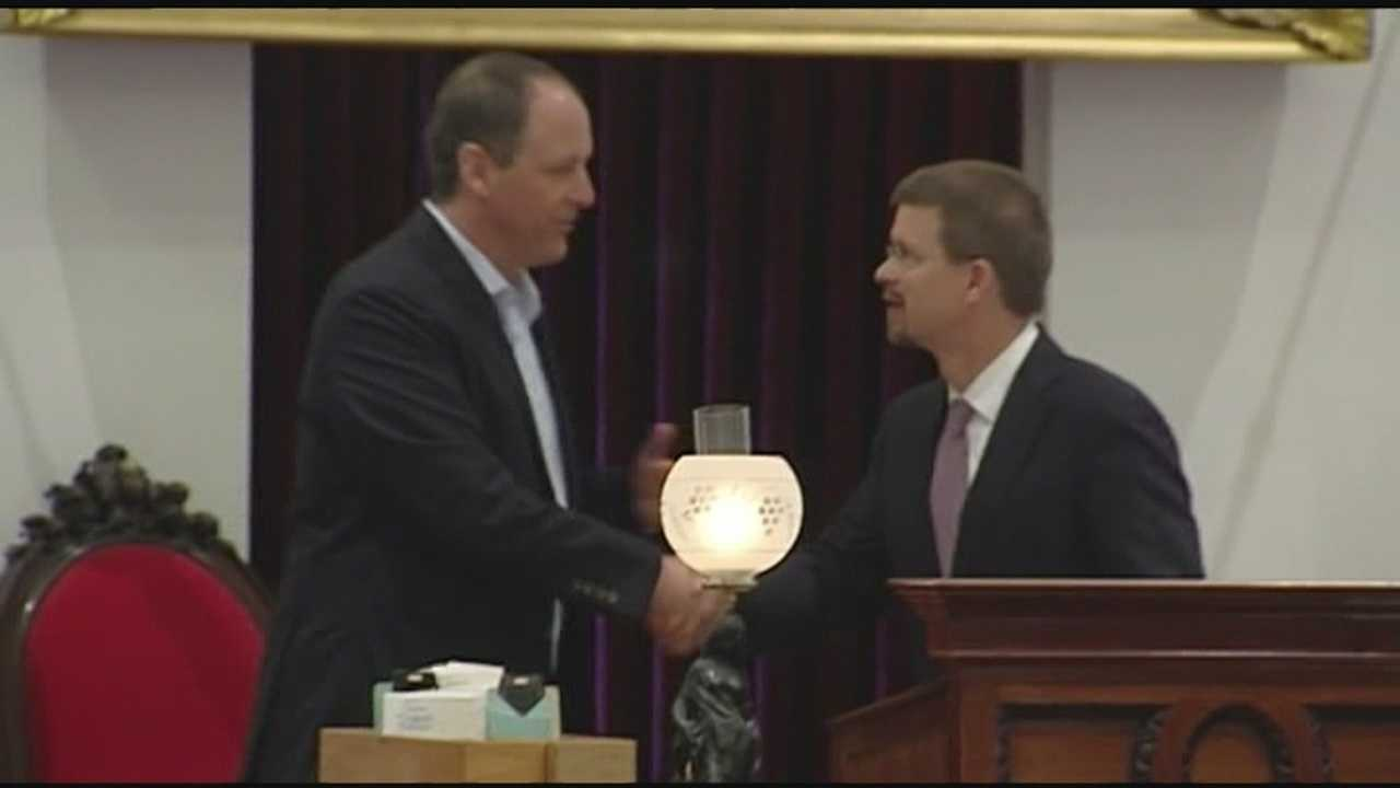Cats honored at State House
