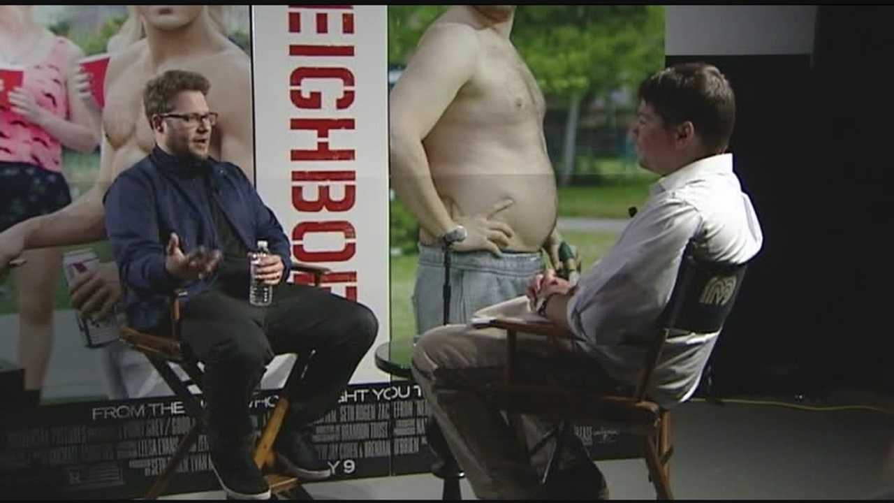 5-1-14 Seth Rogen visits Burlington - img