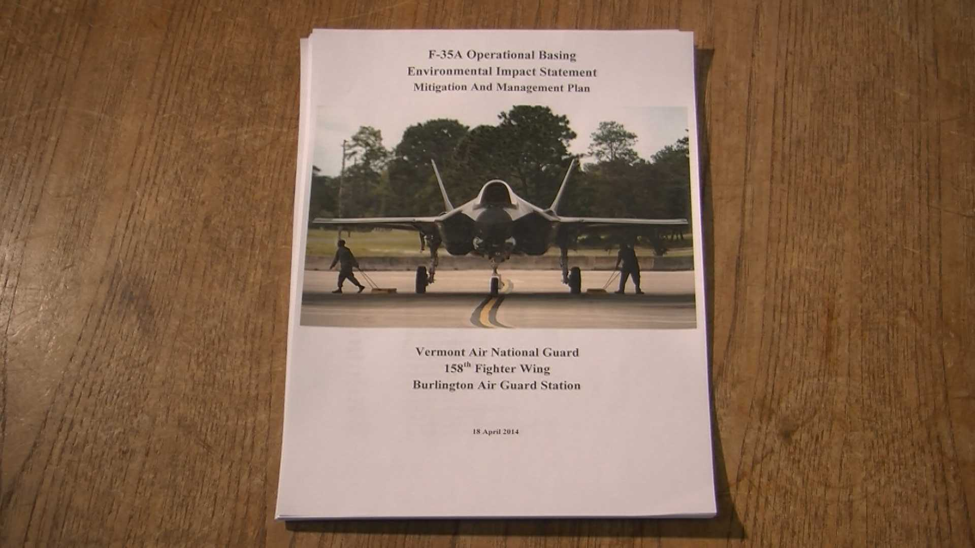 5-1-14 WPTZ obtains F-35 mitigation plan - img