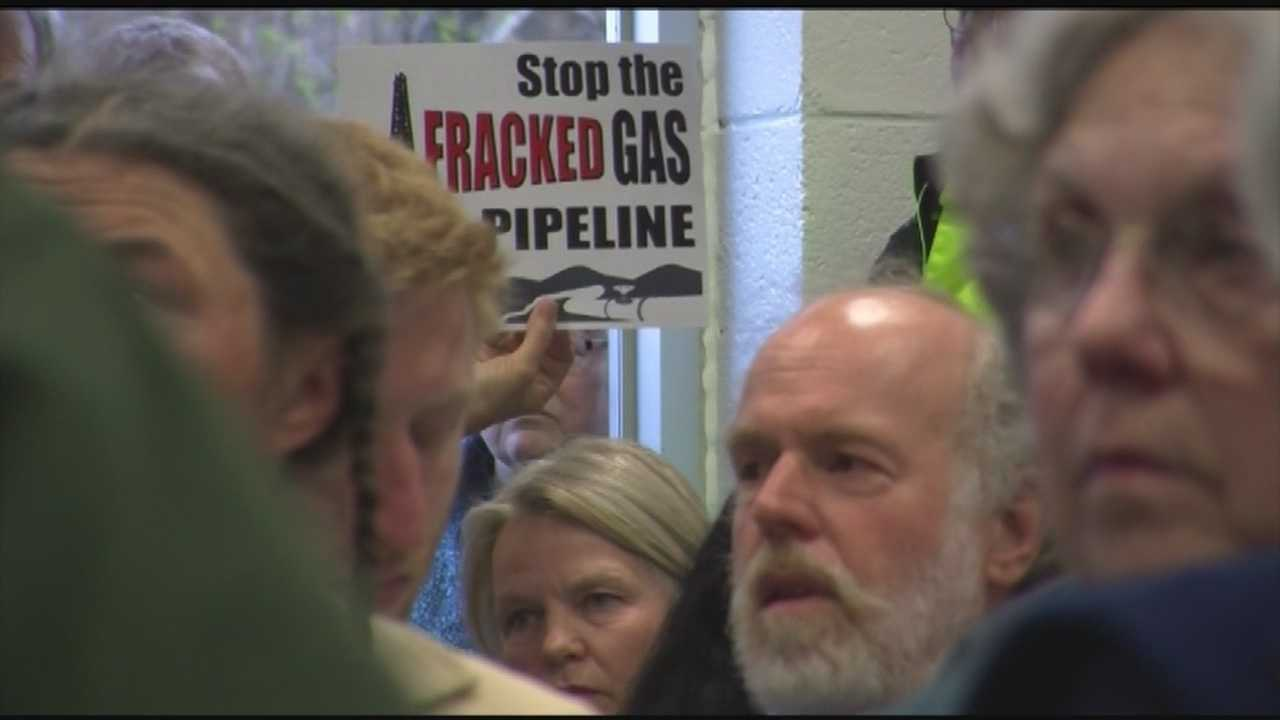 Vermont's Public Service Board took testimony for the first time Wednesday on phase two of Vermont Gas' Addison County natural gas pipeline. This second phase of the project would pass underneath Lake Champlain to the International Paper Mill in Ticonderoga, New York.