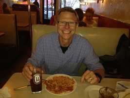 Bove's in Burlington - one of my favorites! - Tom Messner, chief meteorologist
