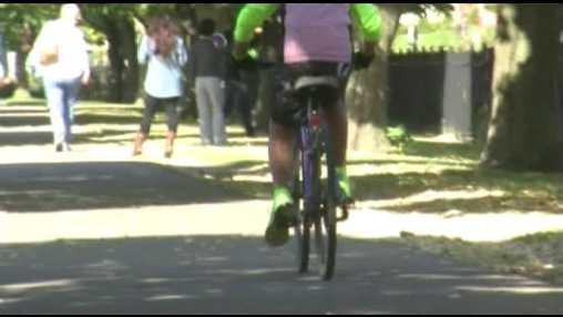 Biking in Burlington