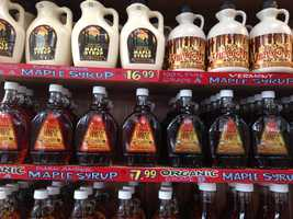 Trader Joe's maple syrup.