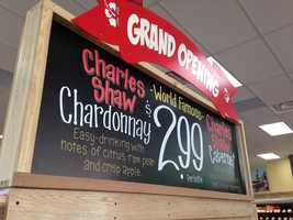 Some Trader Joe's wine is $2.99 a bottle.