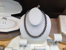 Prefer pearl? That's cool. You can get 300 Tahitian black pearl necklaces for $10,000 each.
