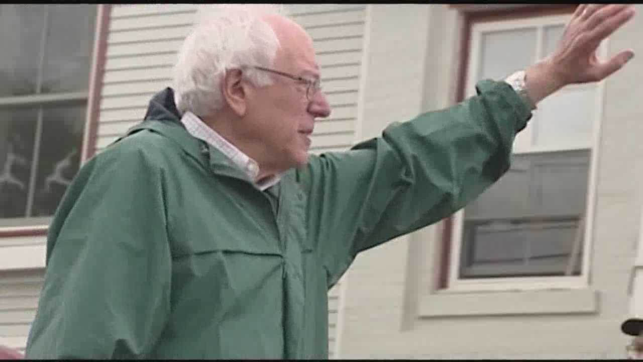 WPTZ meets up with Sanders in Vergennes