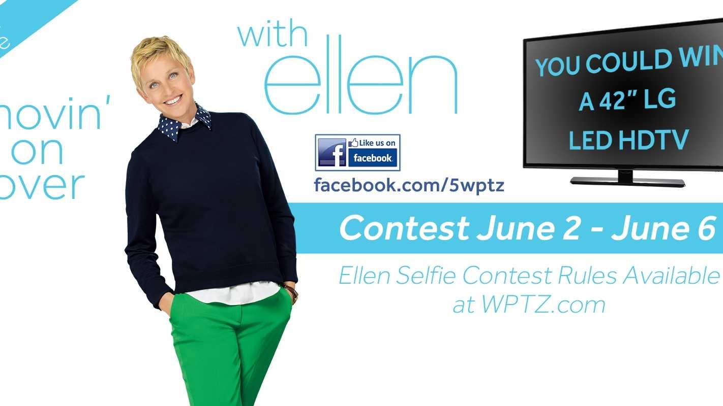 Selfie with Ellen image