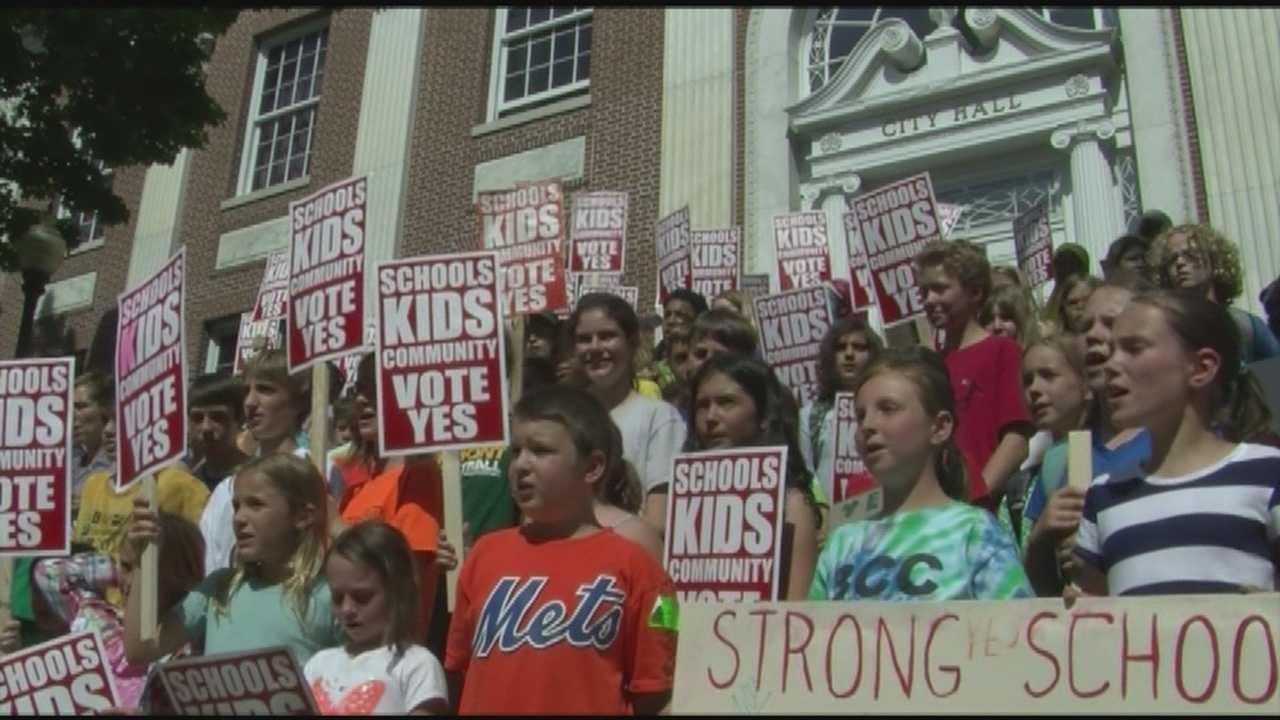 Burlington's school budget revote on for Tuesday