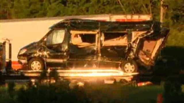 Tracy Morgan crash scene