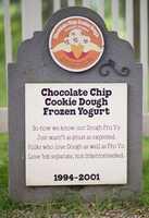 Chocolate Chip Cookie Dough Frozen Yogurt1994 – 2001Vanilla frozen yogurt with gobs of chocolate chip cookie dough.