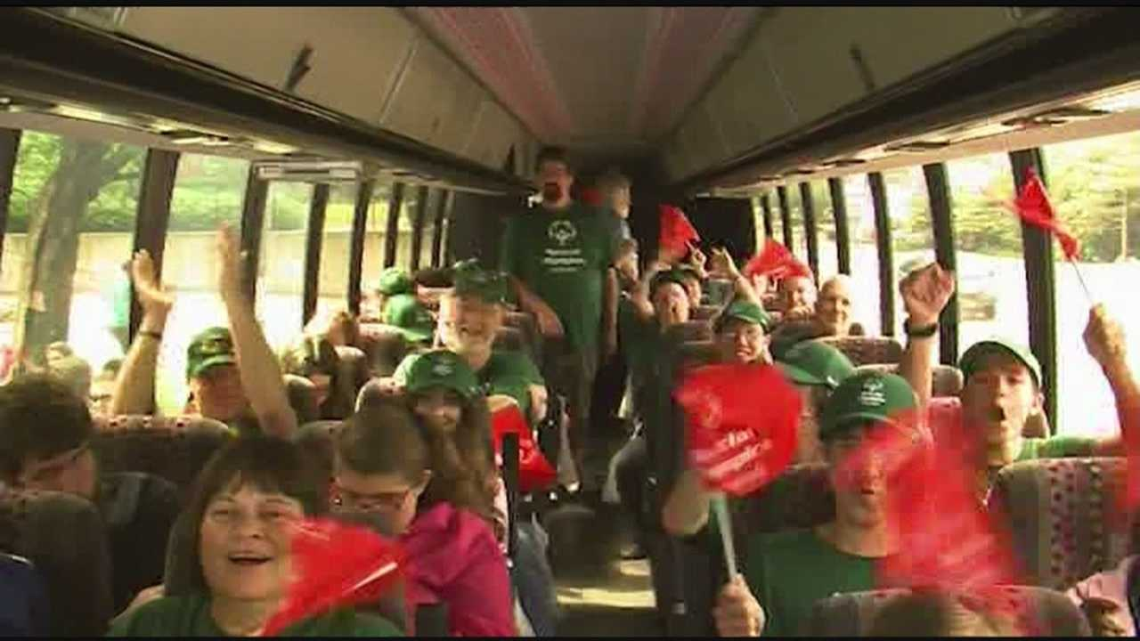 Special Olympians send off to national games