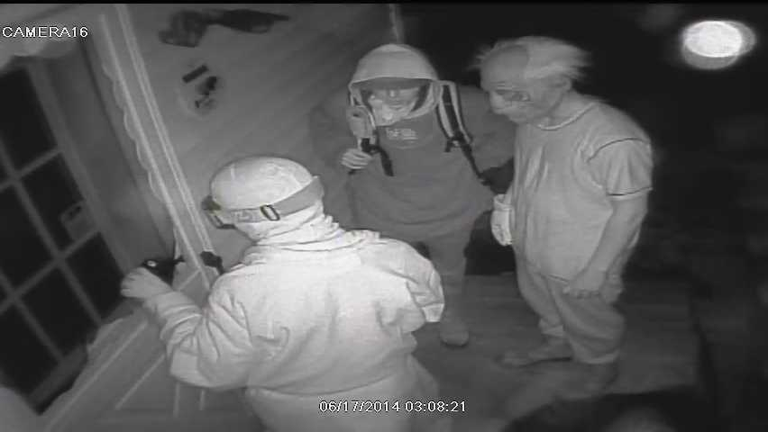 Vermont State Police are looking for three men that broke into the Blush Hill Country Club in Waterbury on Tuesday and stole alcohol. Anyone that has information about the incident is asked to contact the Central Vermont Crime Stoppers Tip Line like at 800-529-9998 or the Middlesex barracks at 802-229-9191.