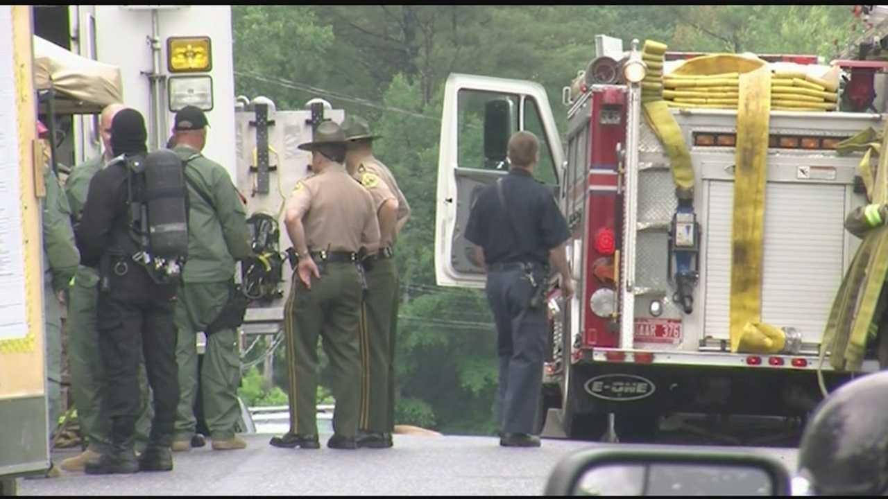 Hazmat, emergency crews respond