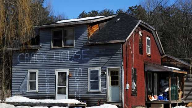 'Crack House' - Courtesy of Post-Star