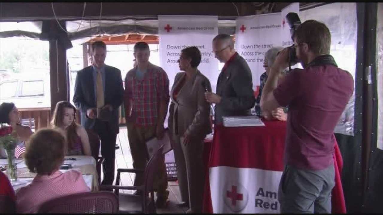 Teenager recognized for saving life