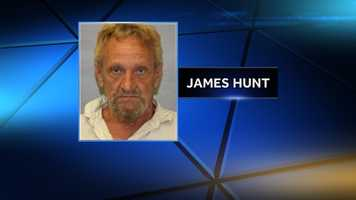 James Hunt, 60, of Plattsburgh, N.Y., was arrested and charged with possession of heroin and driving under the influence of drugs following a traffic stop in Chesterfield on June 26, 2014.