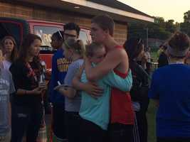 Leaning on each other for support as students cope with devastating grief
