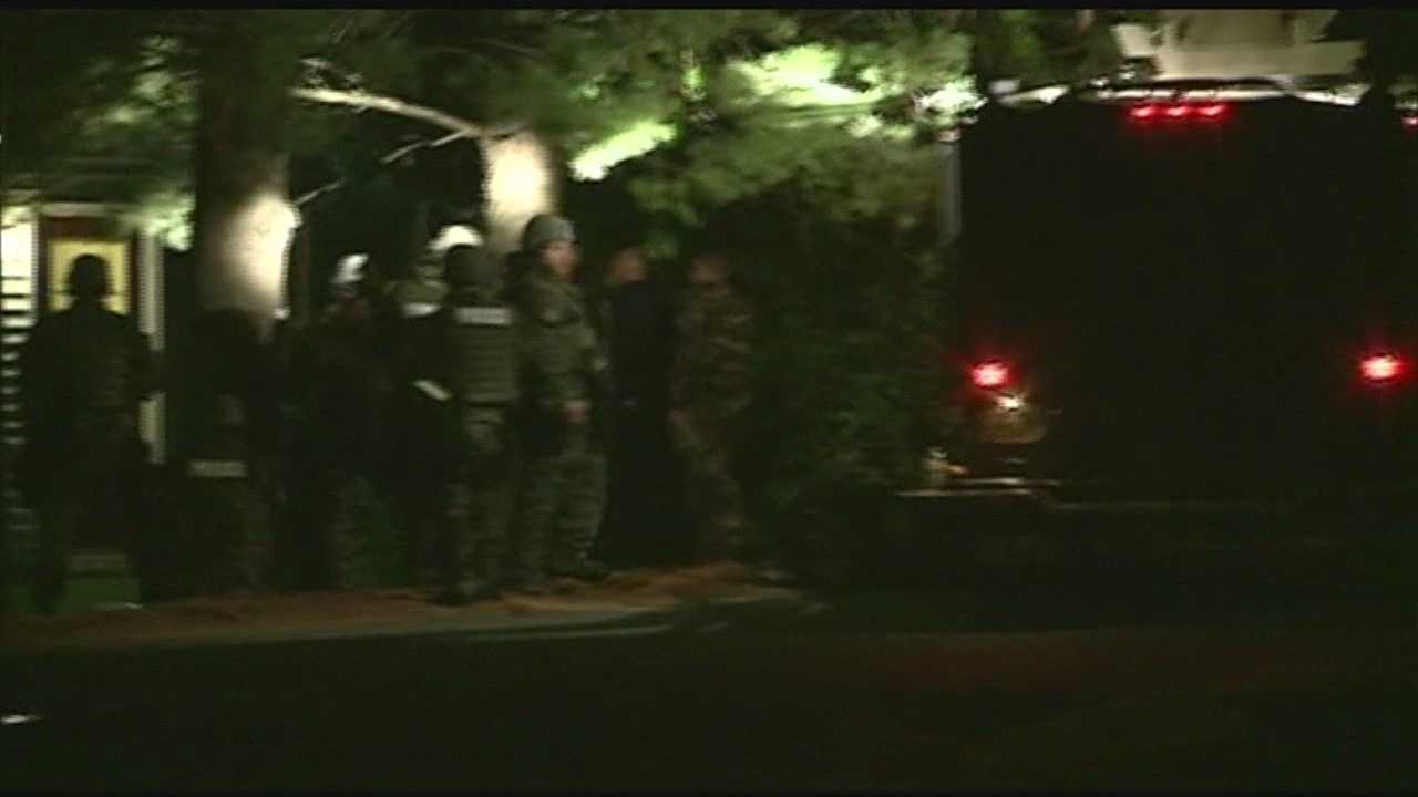 Standoff with police in Keene ends