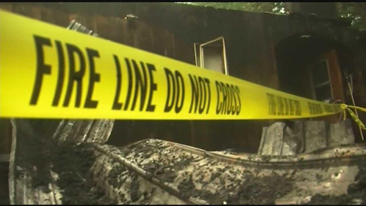 7 firefighters taken to hospital after lightning strike