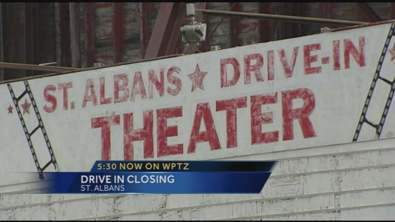 St. Albans drive in theater closes
