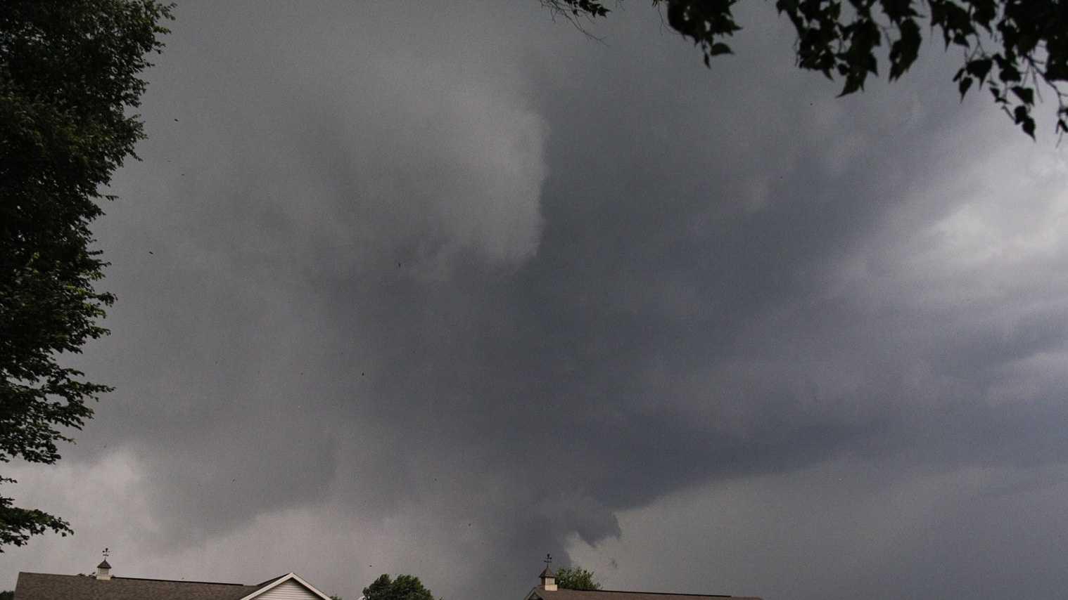 Tornado in Verona, NY. Photo Courtesy: Tim Hartley