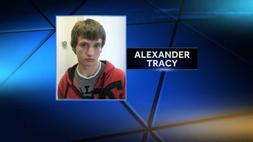 Alexander Tracy, 17, was reported missing from his Berkshire, Vt. residence on Wednesday. Vermont State Police say Tracy ran away Tuesday night. He is not believed to be in an immediate harm