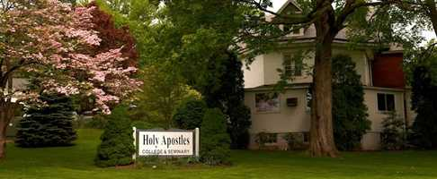 #22 Holy Apostles College (Connecticut)  $10,080 for tuition and fees for the 2012-13 academic year according to the U.S. Department of Education.