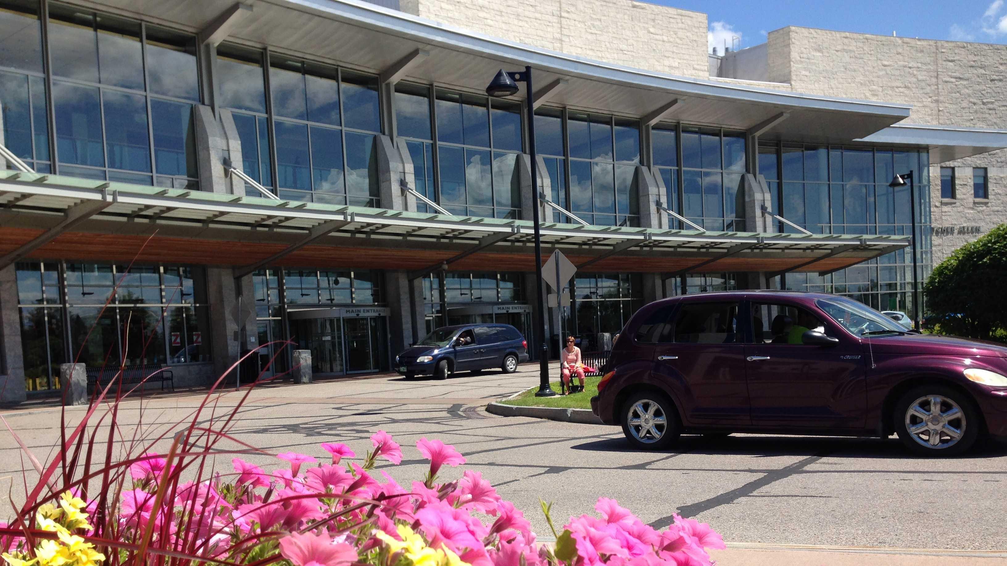 Fletcher Allen Healthcare in Burlington.