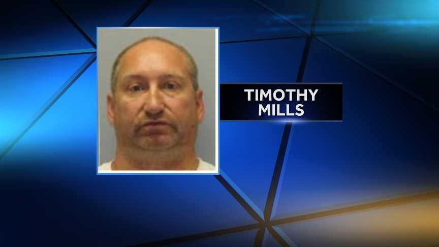 Timothy Mills, 46, of Ogdensburg, N.Y., was arrested Tuesday by New York State Police for allegedly raping a 14-year-old girl on May 31 and June 1. He is charged with two counts of second-degree rape, two counts of endangering the welfare of a child, and one first-degree count of unlawfully dealing with a child.