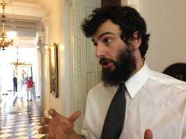 Rising Tide Vermont spokesperson Jonathan Shaprio.