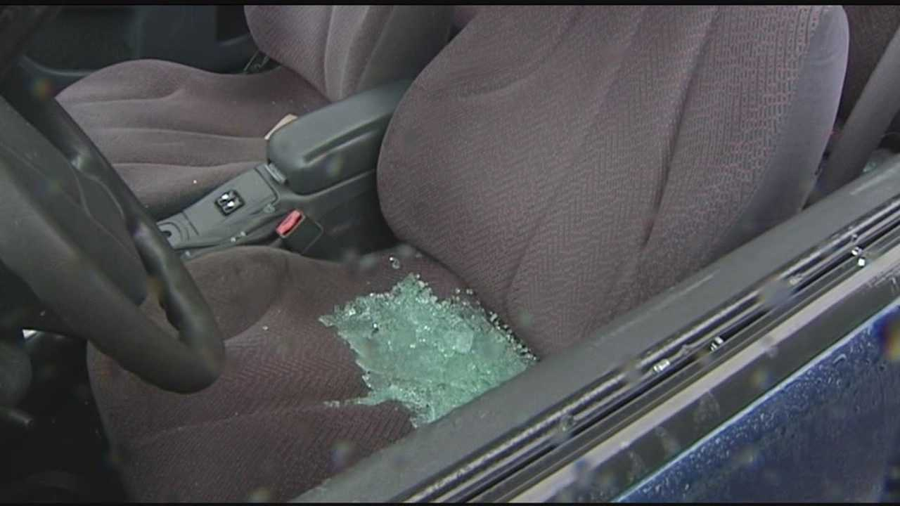 Car windows fall victim to vandalism spree