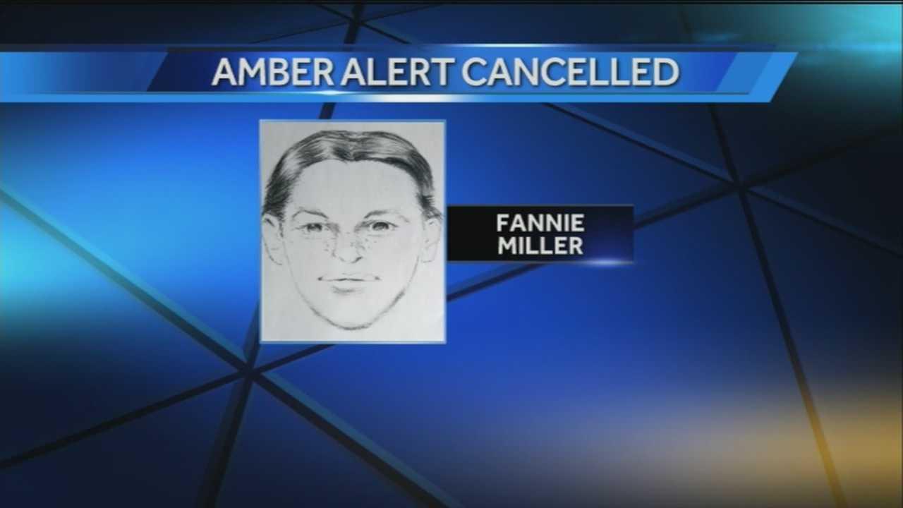 Amber Alert Cancelled
