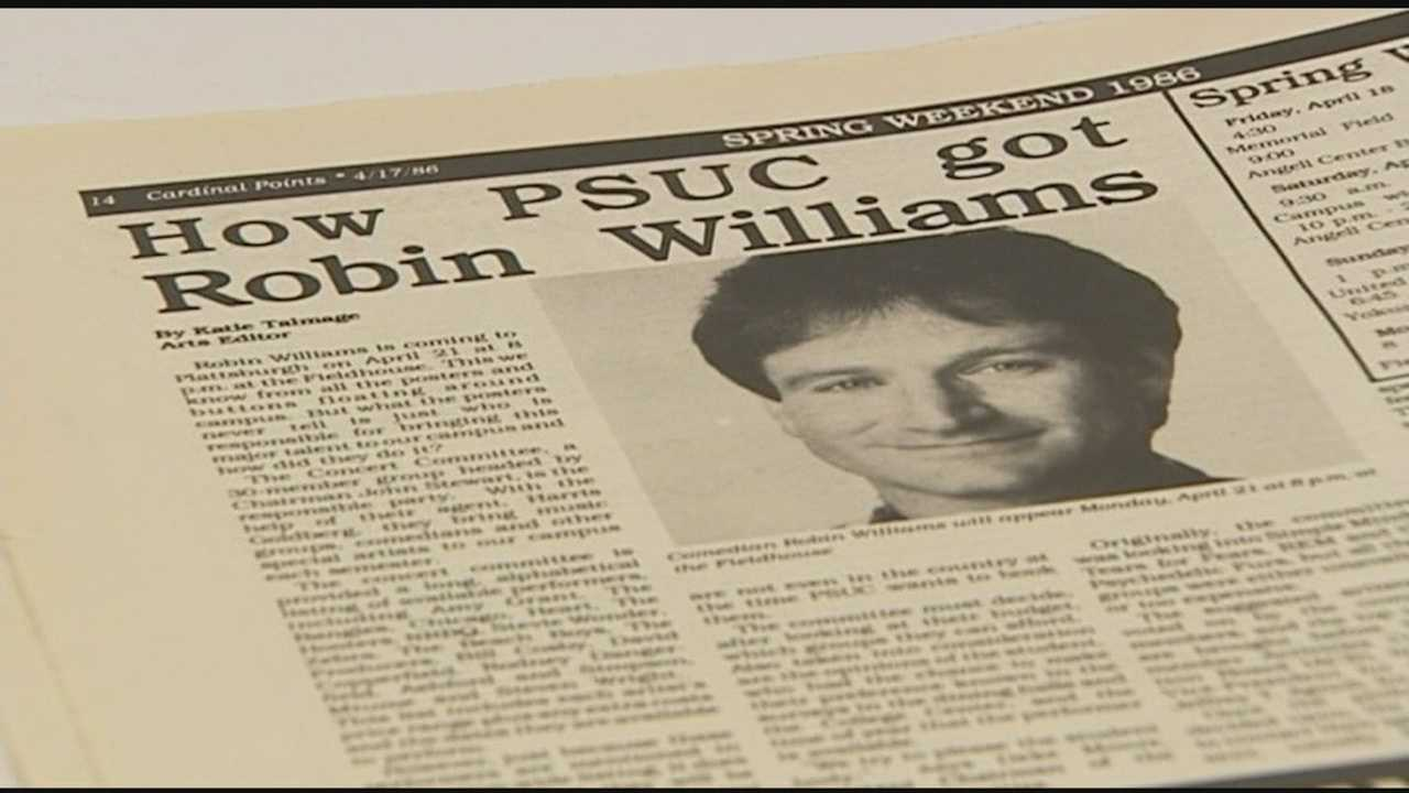 Robin Williams' PSU visit