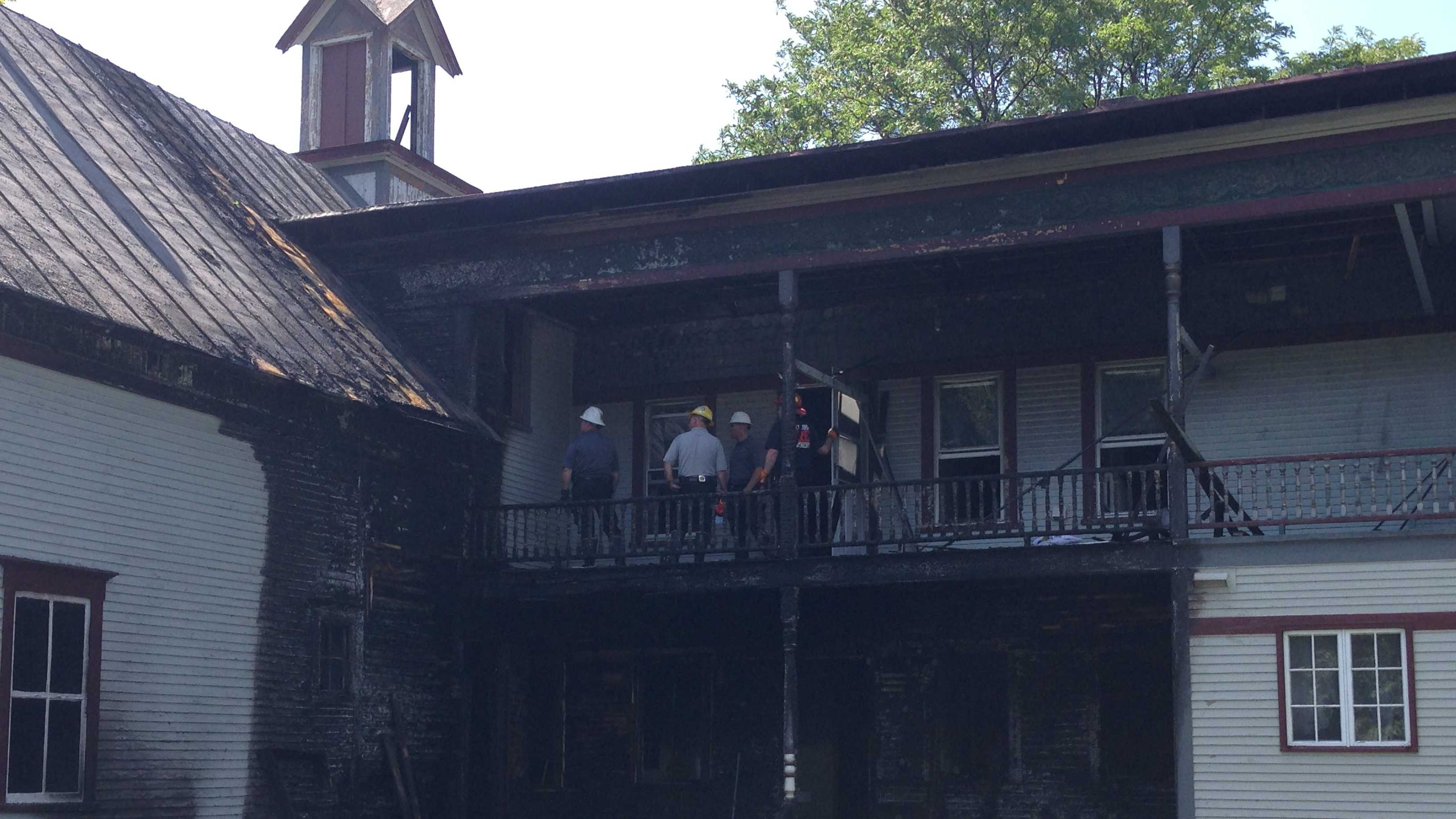 Serial arsonist suspected in string of fires - img