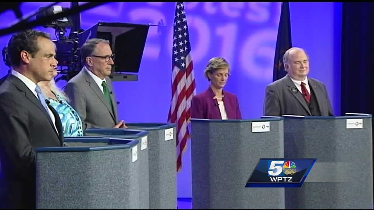 Vermont democratic candidates for governor debate before primary