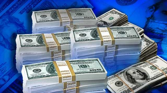 Money - stacks of cash