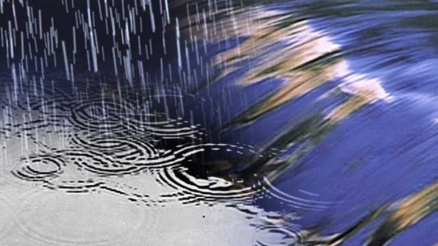 Rain - river