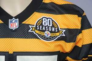 "The Pittsburgh Steelers celebrate their 80th anniversary this season and will wear special ""throwback uniforms"" in two games."