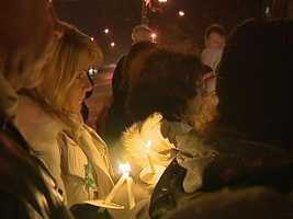 In 2012, a vigil was held on Brookline Boulevard to mark the one-year anniversary of Alivia Kail's disappearance.