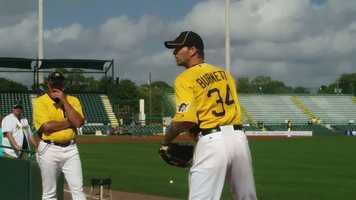 Starting pitcher A.J. Burnett