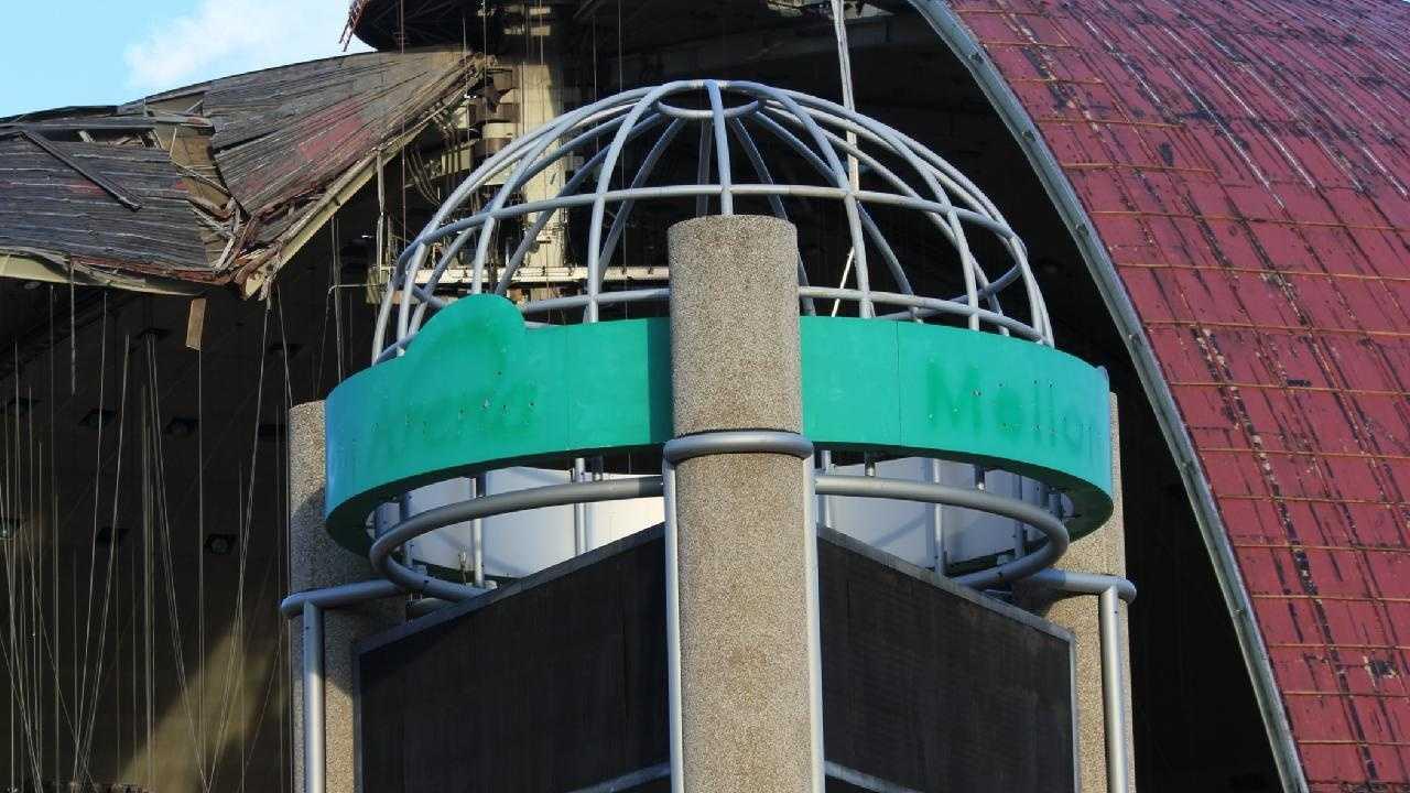 Civic Arena Roof Igloo Mellon Arena